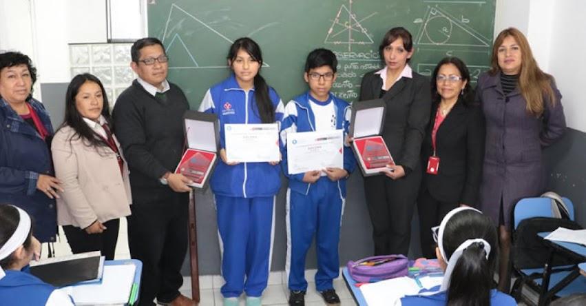 UGEL 07 reconoció a estudiantes por sus logros en la Olimpiada Nacional Escolar de Matemática - ONEM 2018