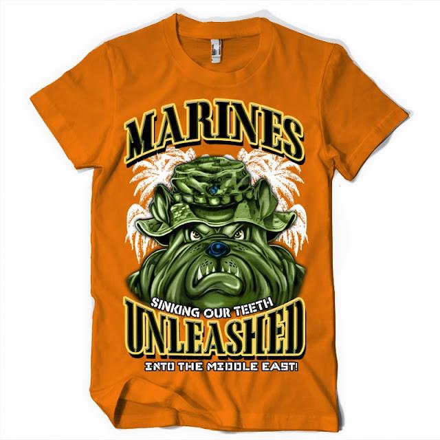 marines tshirt