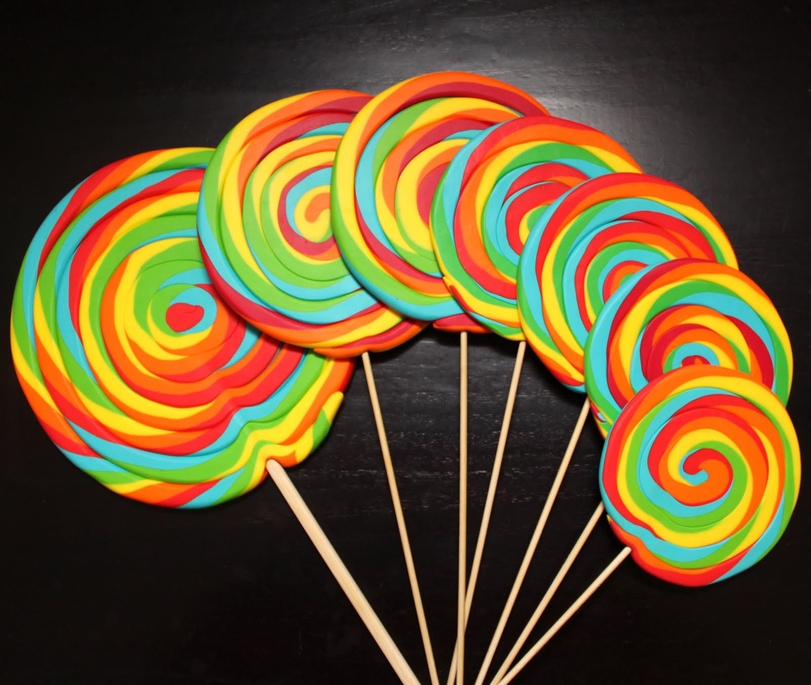 Candy Lollipop And Jelly Machinery Mail: Dwen : The Cool Things I Love: FIMO Lollipops & Candy