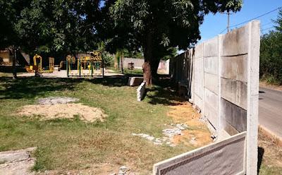 Academia comunitária é cercada por muro no Jardim Botânico
