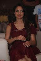 Pragya Jaiswal in Stunnign Deep neck Designer Maroon Dress at Nakshatram music launch ~ CelebesNext Celebrities Galleries 124.JPG