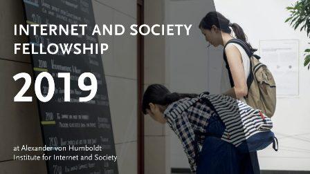 HIIG Fellowship - Apply Internet and Society Fellowship Application Form 2019
