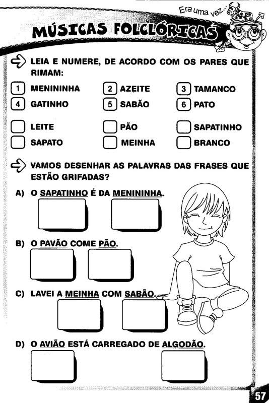 Alfabetizando com o Professor Edmilson Pereira: MÚSICAS
