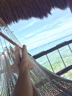 On a Hammock while Unplugged on Vacation