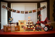 Red Wagon 1st Birthday