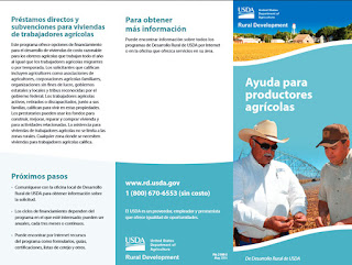 Ayuda par productores agrícolas
