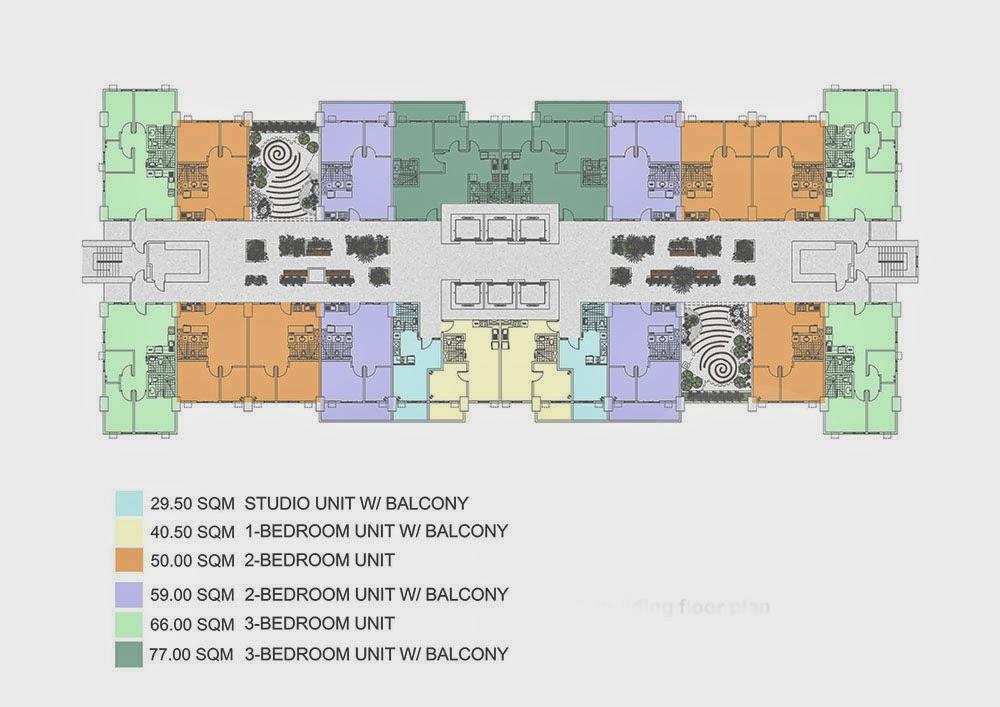 Tivoli Garden Residences Iris Tower Typical Garden Atrium Floor Plan