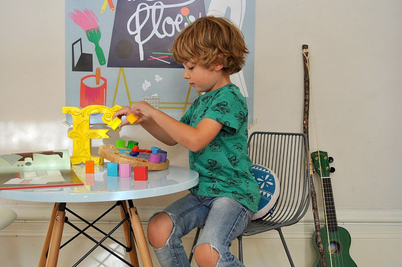 colourful kids interiors