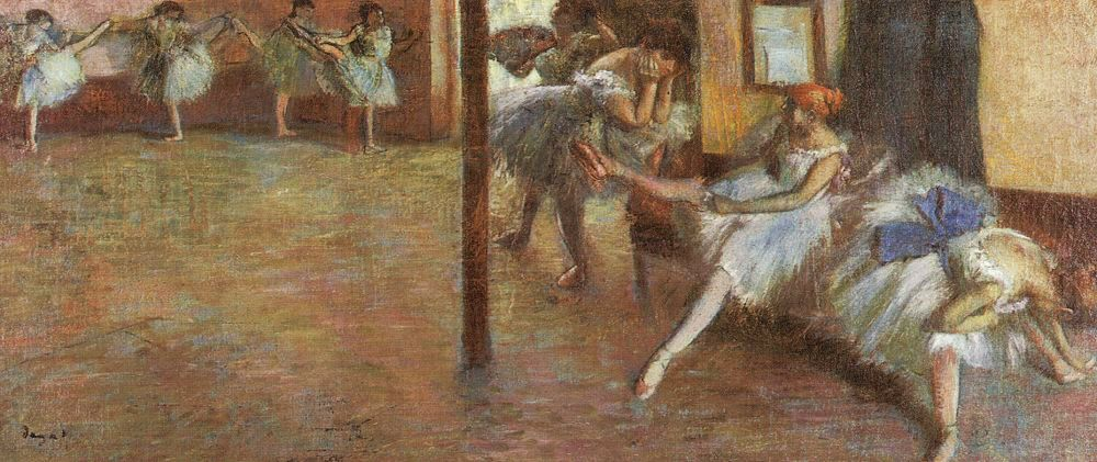 Famous Interior Paintings: The Interior Prospect: Degas At The Royal Academy
