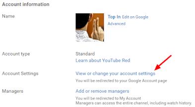 Cara Mengubah Nama Akun/Channel Youtube