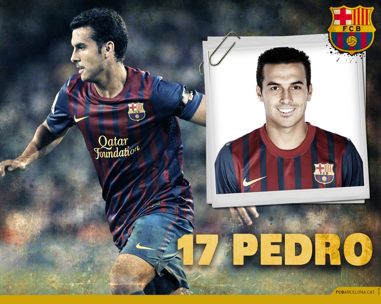 World Sports Hd Wallpapers: Pedro FC Barcelona Hd Wallpapers