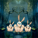 8bGames Rabbit Farmhouse Escape