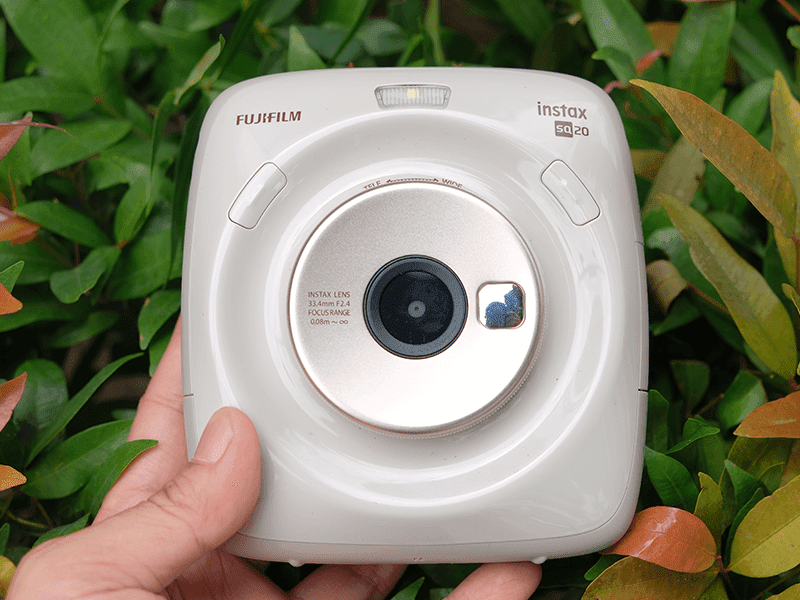 Fujilfilm Square SQ20 Instax Camera now official in the Philippines!
