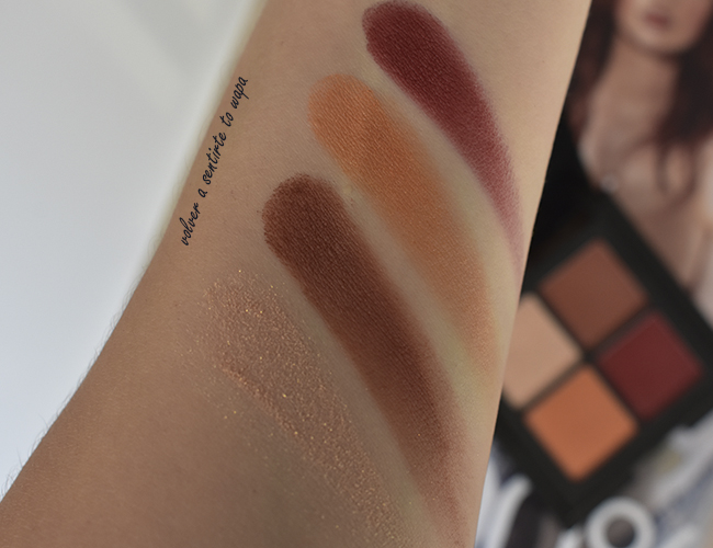 NYX Full Throttle Shadow Palette - 08 Color Riot - Swatches