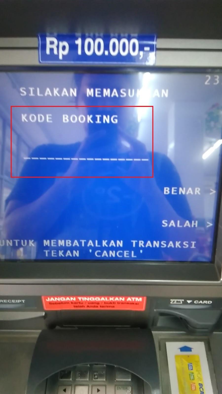 Bayar Tiket Kereta Api Via Atm BCA - Dibacaonline