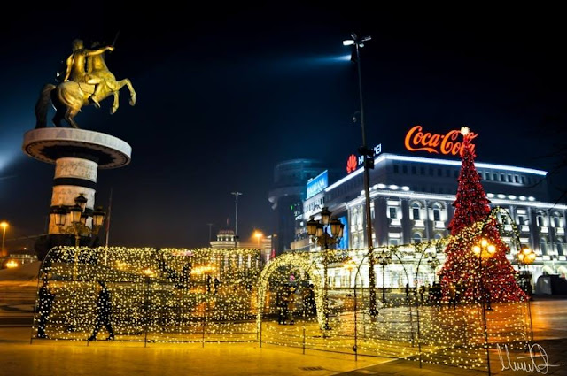 Merry Christmas from Skopje