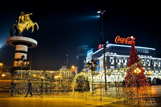 Merry Christmas from Skopje
