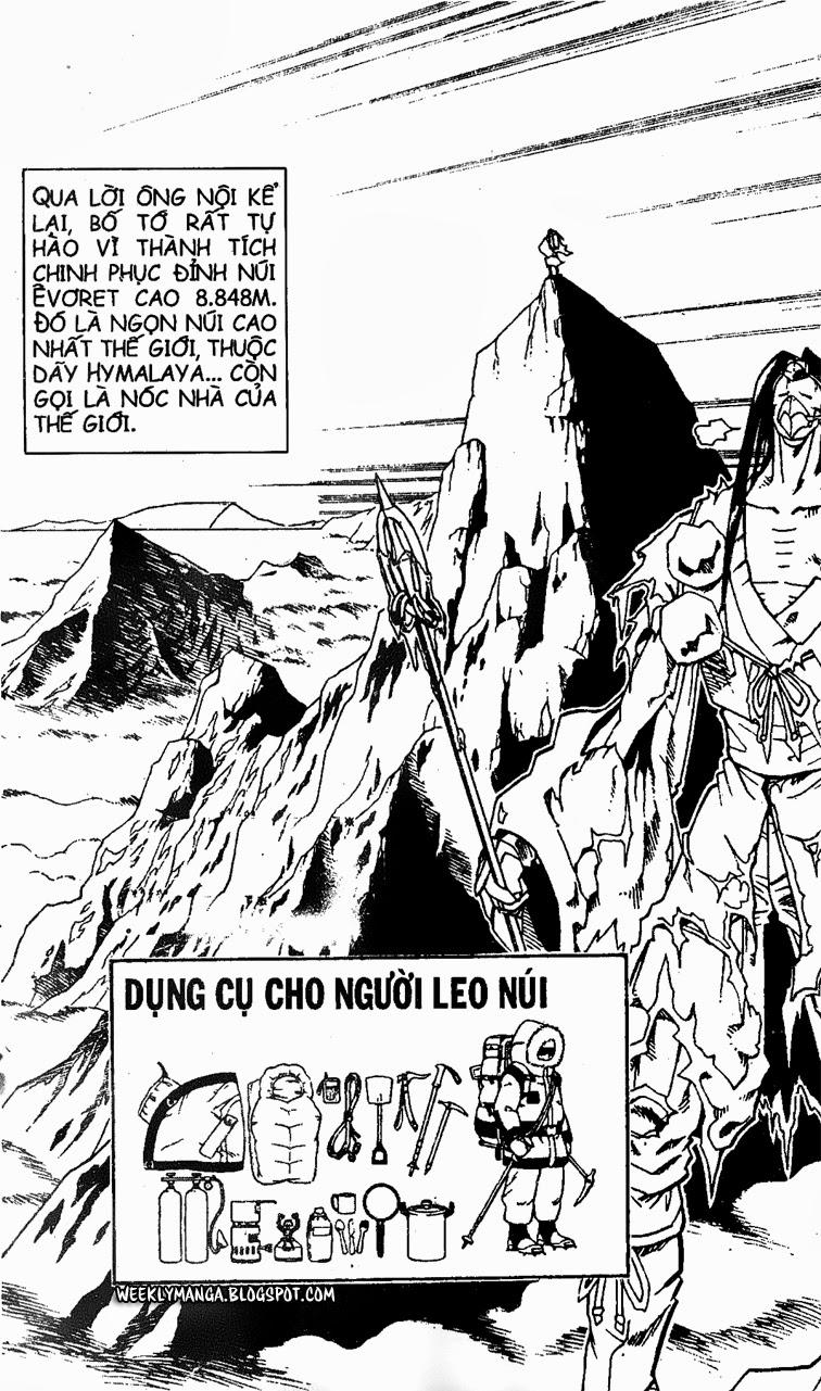 Shaman King [Vua pháp thuật] chap 147 trang 16