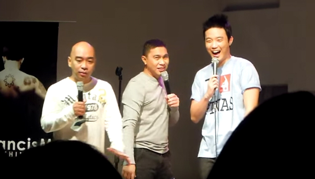 Wally Bayola, Jose Manalo and Ryan Bang.