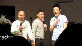 Wally Bayola, Jose Manalo and Ryan Bang.