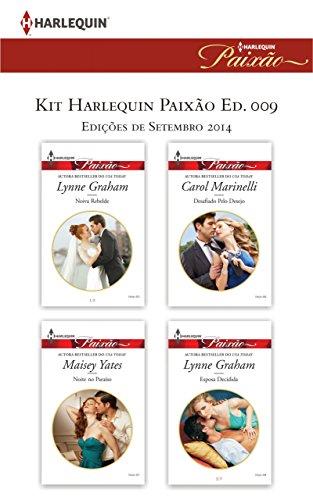 Kit Harlequin Paixão Set.14 - Ed.09 - Carol Marinelli, Lynne Graham, Maisey Yates