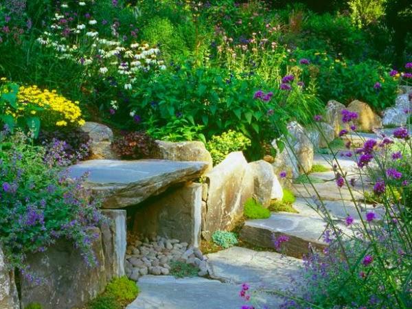 15 ideas para diseñar un camino de jardín - Guia de jardin