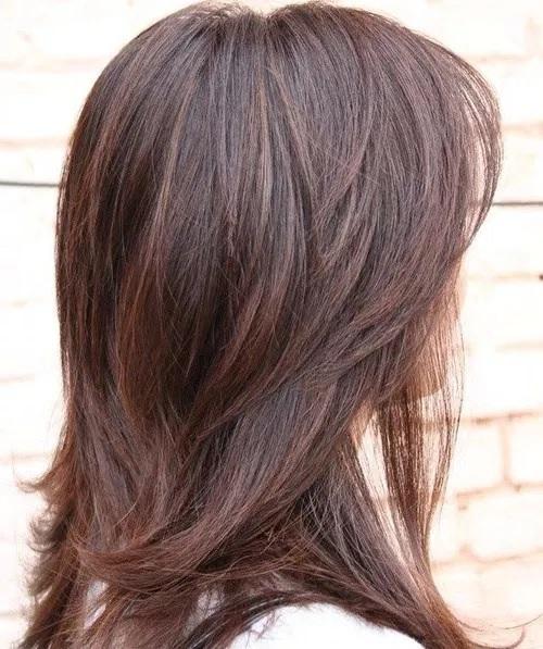2018 Medium Length Haircuts for Thick Hair - Medium Length Hairstyles