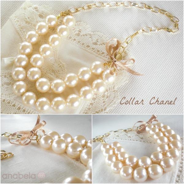 collar de perlas estilo chanel