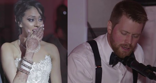 Watch How Canadian Groom Sing Tum Hi Ho For His Indian Bride