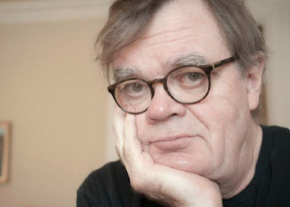 Garrison Keillor's Anti-Trump Diatribe: Done. Over. He's Here. Goodbye.