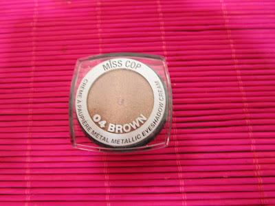 Imagen Sombra en crema Brown Miss Cop