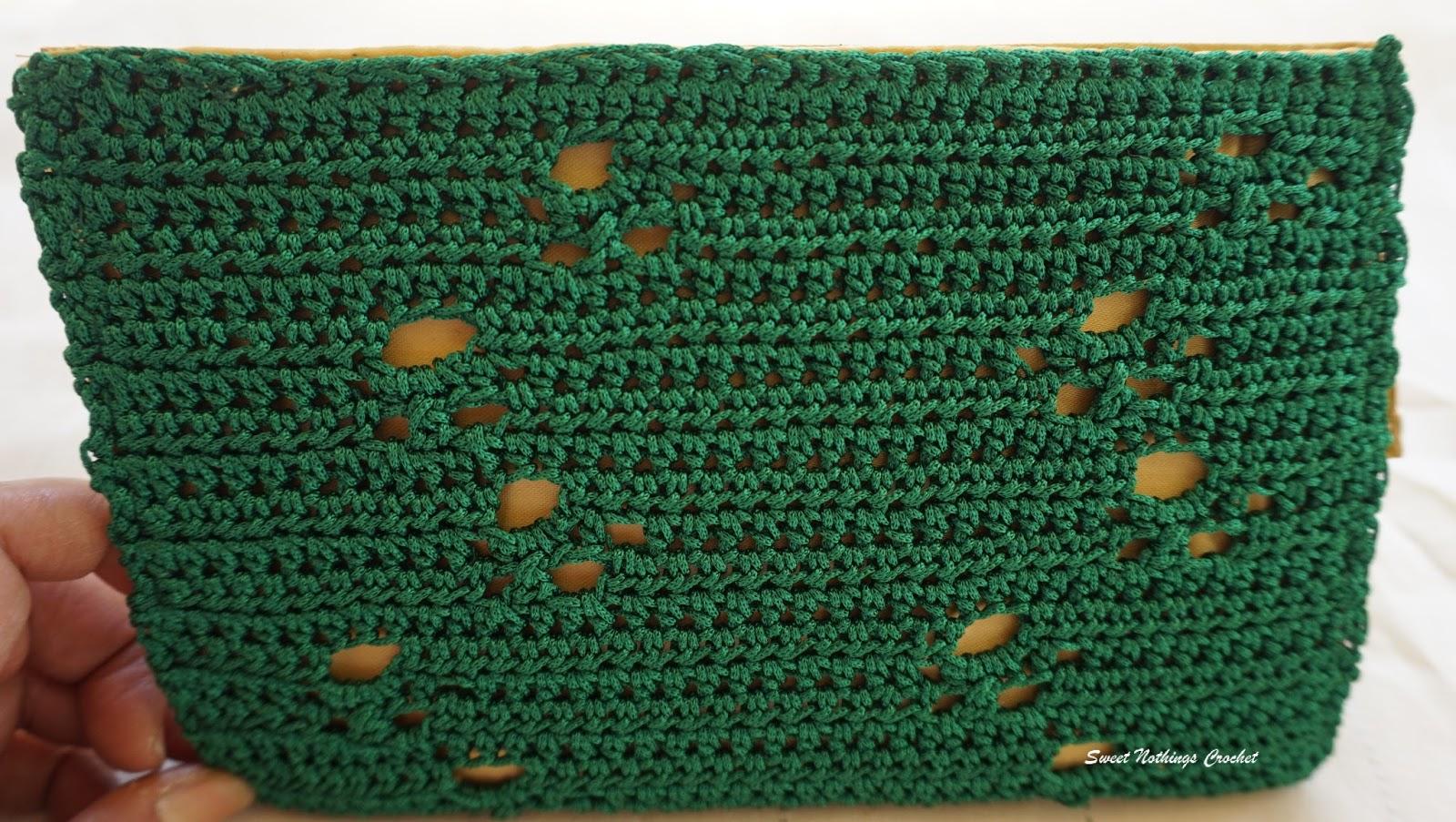 Sweet Nothings Crochet: PAWZ CLUTCH PURSE