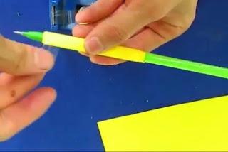 Bikin Sendiri Pena Unik dari Kertas – Diy Paper Pen