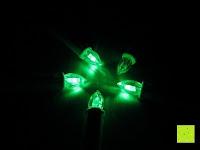 grün: Yorbay® LED Weihnachtskerzen RGB/Warmweiß mit Fernbedienung mit Timerfunktion 10-100stk (20)