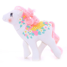 My Little Pony Flower Bouquet Year Seven Merry Go Round Ponies G1 Pony