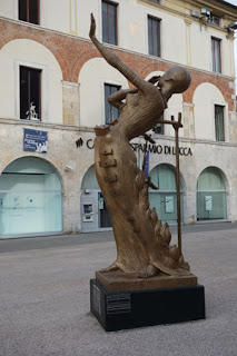 Salvador Dali Sculpture Exhibition in centro Pietrasanta Italy