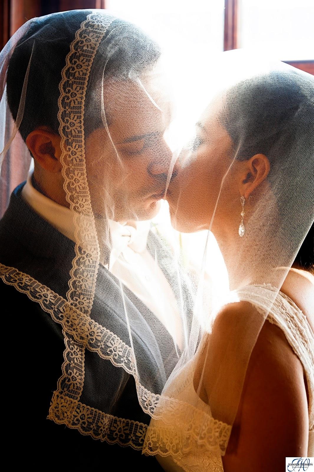 couple veil
