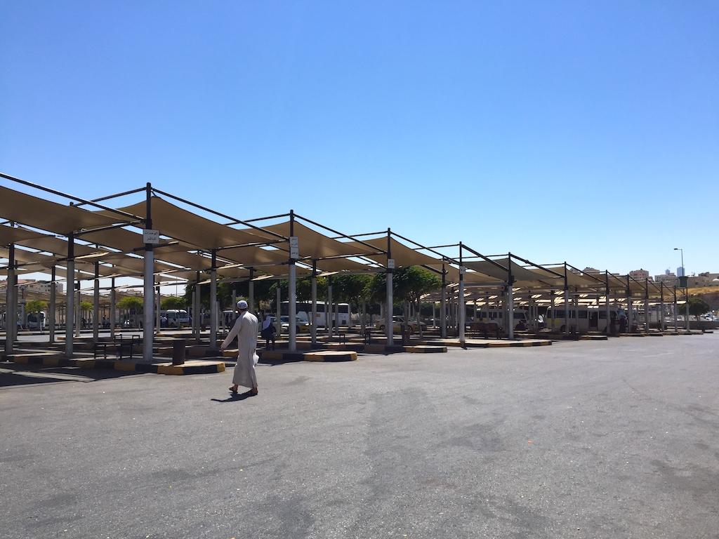 Liburan ke Jordan (Jerash dan Amman) - Tabalbour North Bus Terminal