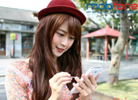 Mua thêm dung lượng data 3G Mobifone