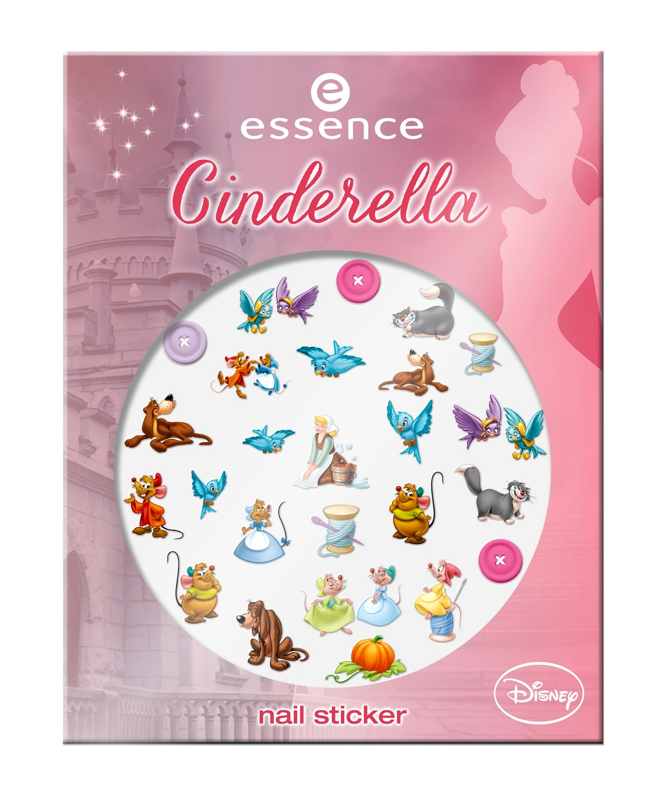 essence cinderella – nail sticker, 01 the stroke of midnight
