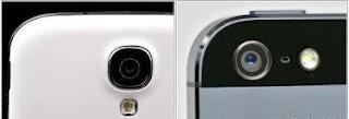 perbedaan kamera iPhone 5 dan iPhone 5s
