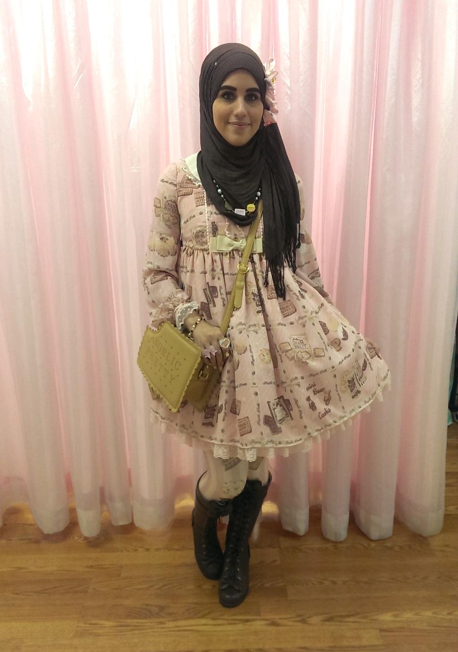 ازياء محجبات مستوحاة الموضة اليابانية tumblr_ndba4wybVS1qi