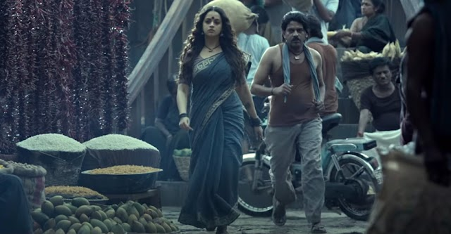 Bhavana is Back in Action with a Stunning Look; 'Bhajarangi' Movie Teaser Gone Viral on Internet
