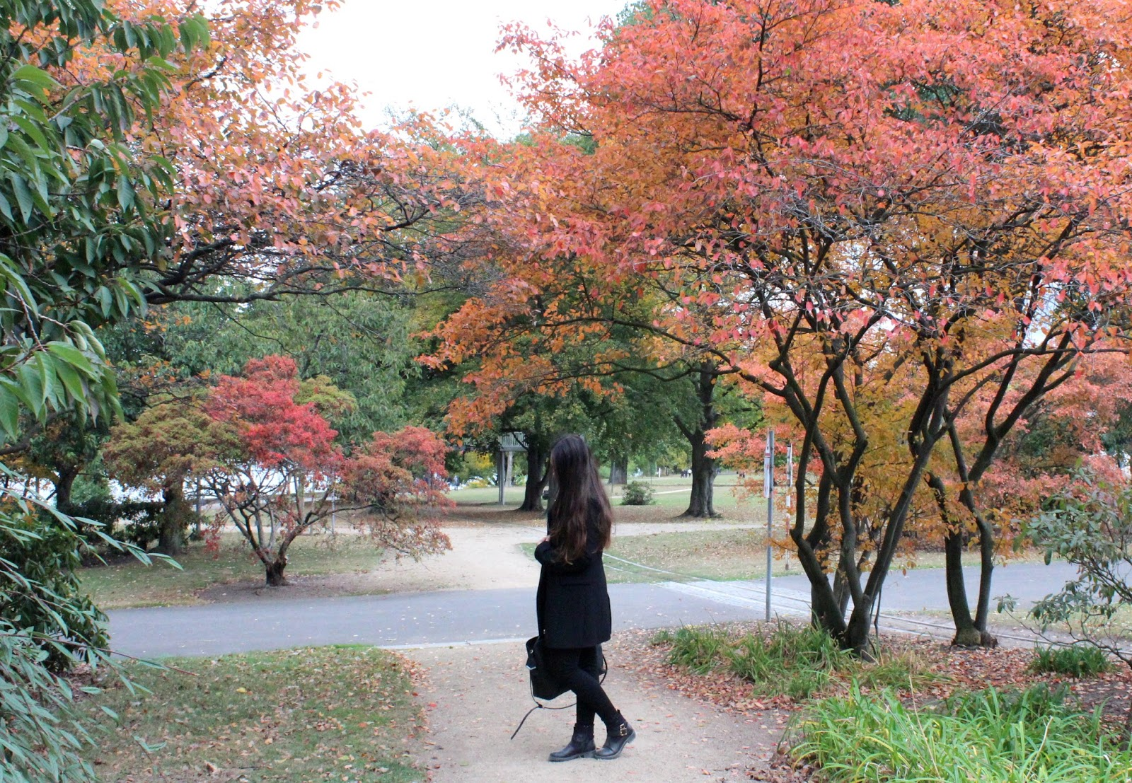 Herbstmantel von Zara Outfit