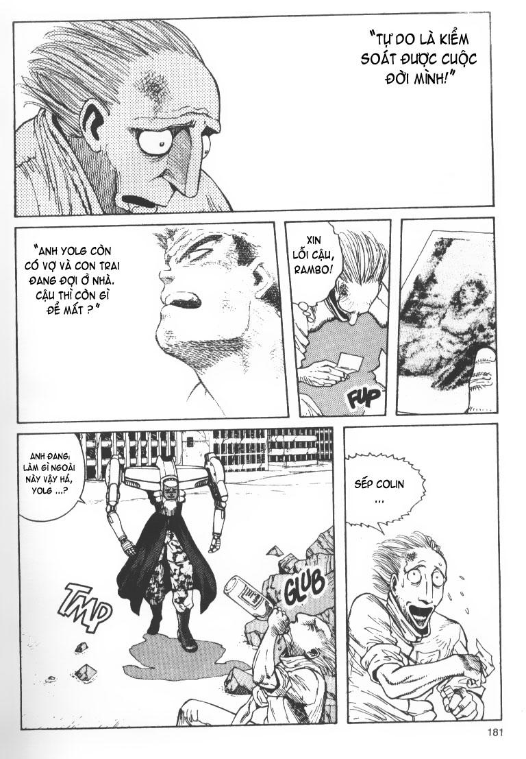 Battle Angel Alita chapter 34 trang 7