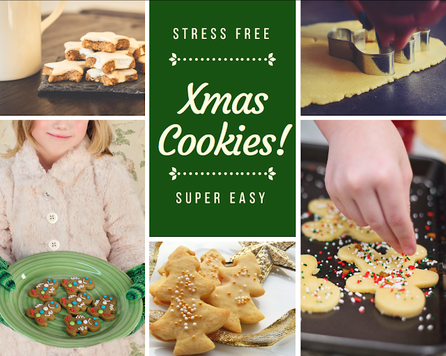 Stress free Christmas Cookies