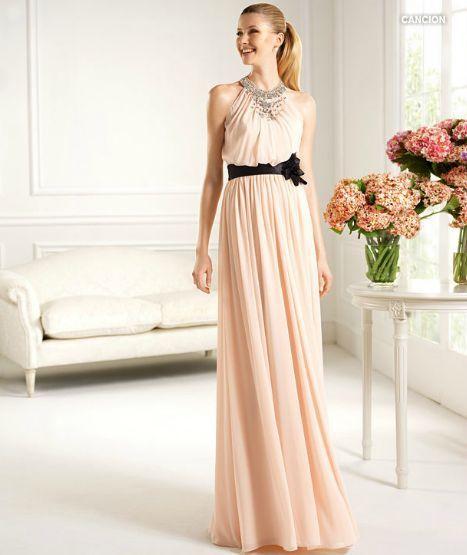 4a65b0fd7 Vestidos largos de moda ¡20 Ideas Increíbles!