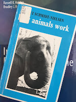 How Animals Work, by Knut Schmidt=Nielsen, superimposed on Intermediate Physics for Medicine and BIology.