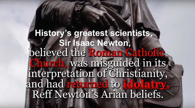 Sir Isaac Newton And Albert Einstein Faith in God.
