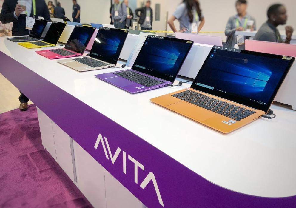 Avita Laptops, AVITA CES 2019